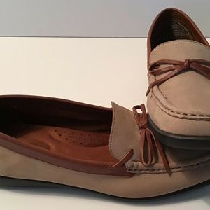 Naturalizer Briza Tan Suede Leather Flat Loafer 8M